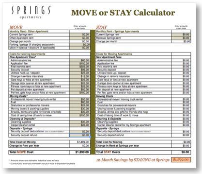 Move-or-Stay-Calculator